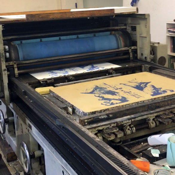 Ny litografi på gang